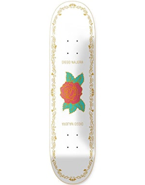 Primitive Najera Arch Rose Skateboard Deck - 8.25