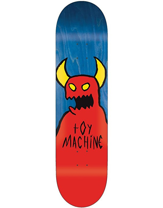 Toy Machine Sketchy Monster Skateboard Deck - 8""