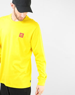 Adidas x Evisen L/S T-Shirt - Yellow/Scarlet