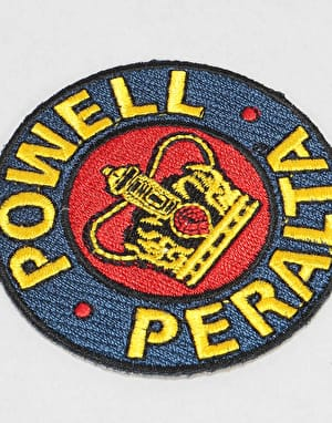 Powell Peralta Supreme Lapel Pin Patch - Multi