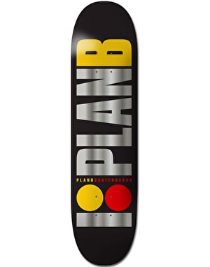 Plan B Team OG BLK ICE  Team Deck - 8.25