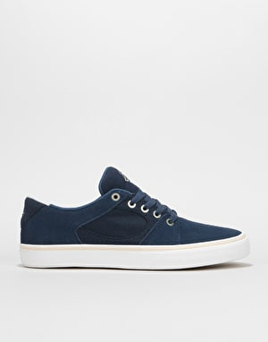 éS Square Three Skate Shoes - Navy
