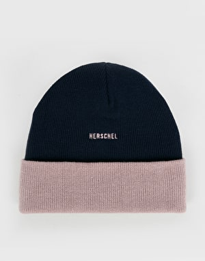 Herschel Supply Co. Rosewell Beanie - Peacoat/Ash Rose
