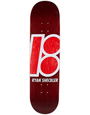 Plan B Sheckler Stained Pro.Spec Skateboard Deck - 8.125