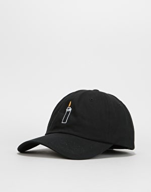 Route One Flames Cap - Black