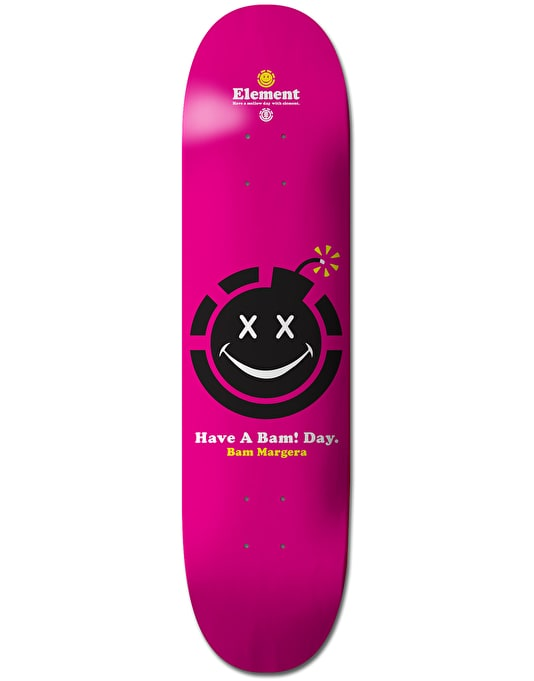Element Bam Have a Day Skateboard Deck - 8.25""