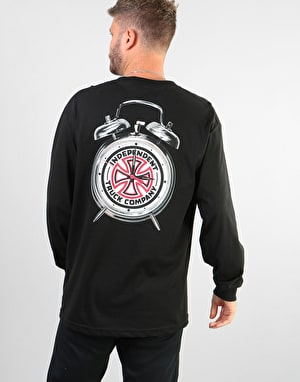 Independent x Thrasher Time to Grind L/S T-Shirt - Black