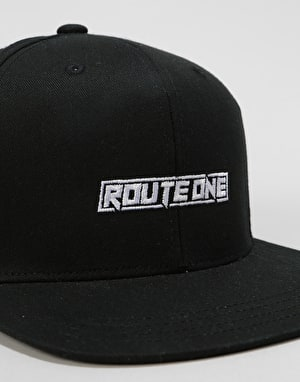 Route One Dummies Snapback Cap - Black