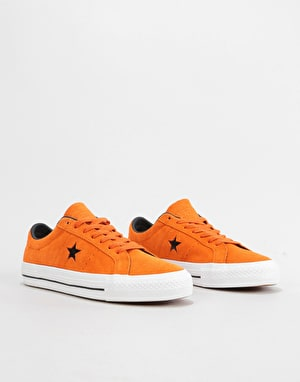 b3966b7d1eb Converse One Star Pro Ox Skate Shoes - Campfire Orange Black White ...