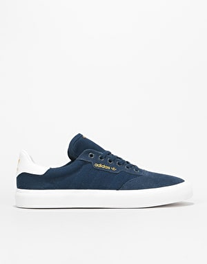 Adidas 3MC Skate Shoes - Collegiate Navy/White/Collegiate Navy