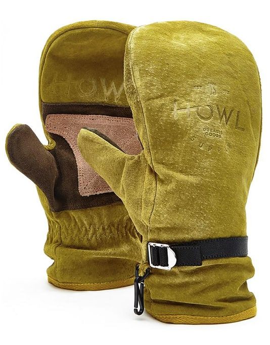 Howl Highland 2018 Snowboard Mitts - Gold