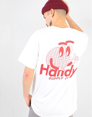 Handy OG Globe T-Shirt - White