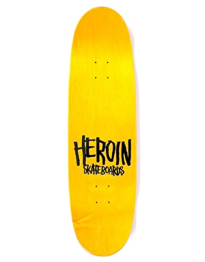 Heroin The Big Egg Skateboard Deck - 9.125