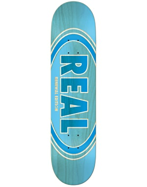 Real Oval Duo Fades Skateboard Deck - 8.5