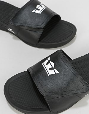Supra Locker Slides - Black