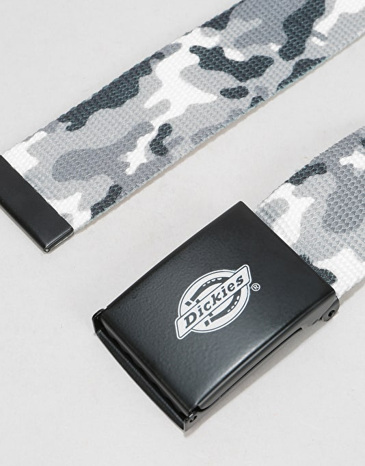 Dickies Orcutt Web Belt - White Camo