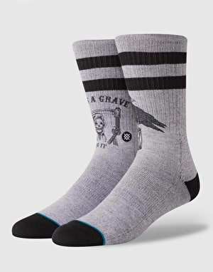 Stance Lifes A Grave Classic Crew - Grey