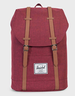 Herschel Supply Co. Retreat Backpack - Winetasting Crosshatch/Tan