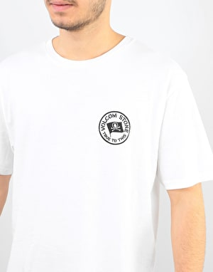 Volcom Flag T-Shirt - White