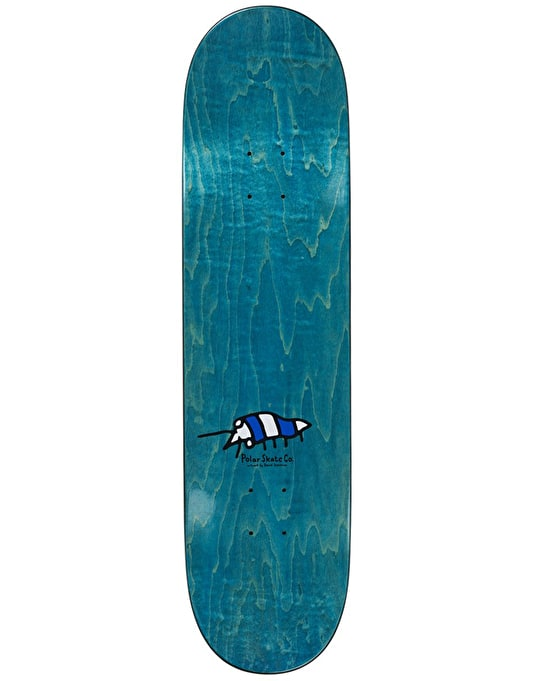 Polar Oskar Underwater Kingdom Skateboard Deck - 8.25""