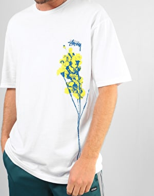 Stüssy Dead Flowers T-Shirt - White