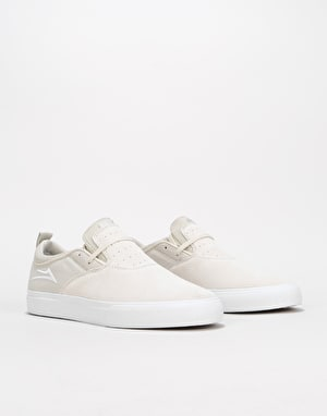 Lakai Riley Hawk 2 Skate Shoes - White Suede