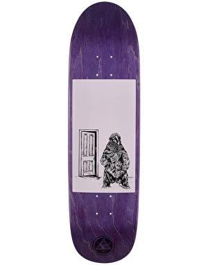 Welcome Go Darker on Psyanka Skateboard Deck - 8.5