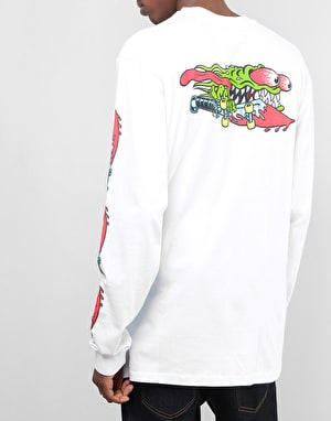 Santa Cruz Slasher Swords L/S T-Shirt - White