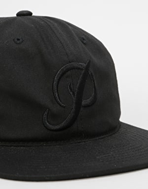 Primitive Classic P 6 Panel Cap - Black