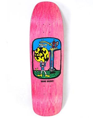 Polar Brady World Ending Skateboard Deck - 1992 Shape 9.25