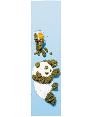 Enjoi Weed Panda Grip Tape Sheet