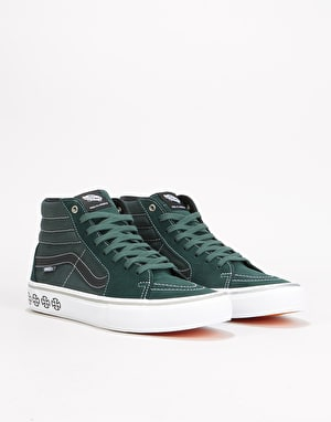 Vans x Independent Sk8-Hi Pro Skate Shoes - (Independent) Spruce