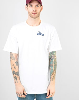 Brixton Rogers III T-Shirt - White