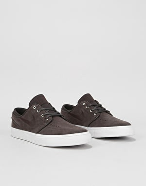 Nike SB Zoom Stefan Janoski Skate Shoes - Velvet Brown/White