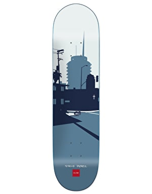 Chocolate Perez City Series Skateboard Deck - 8.375