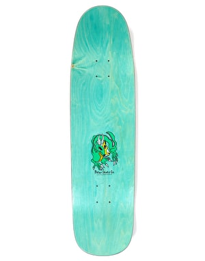 Polar Oskar Dragon Sunset Skateboard Deck - K1 Shape 8.625