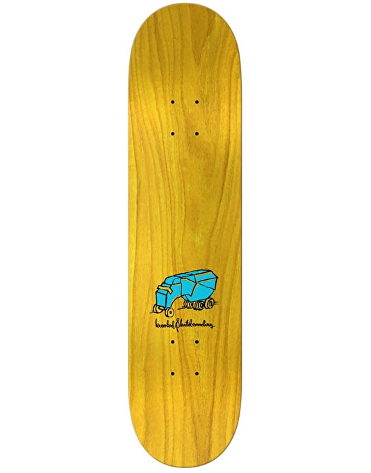 Krooked Cromer Scenery Skateboard Deck - 8.06""