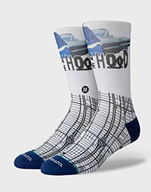 Stance x BITH South Central 200 Needle Socks - White