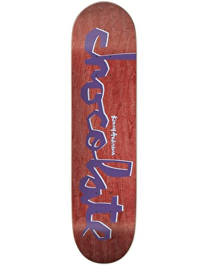 Chocolate Anderson Original Chunk Skateboard Deck - 8.125
