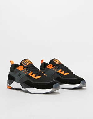 DC Tribeka S SE Skate Shoes - Black/Black/Dark Grey