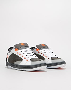 Etnies Czar Skate Shoes - Grey/White/Orange