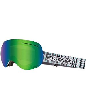 Dragon X1 2019 Snowboard Goggles - New Wave/LUMALENS® Green Ion
