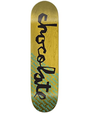 Chocolate Perez The Original Chunk Skateboard Deck - 8.375