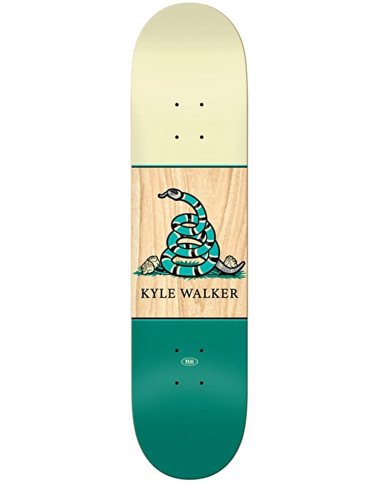 Real Kyle Outlaw Skateboard Deck - 8.38""