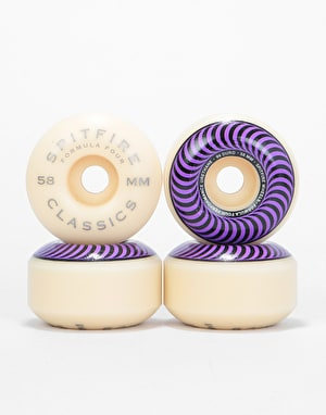 Spitfire Classics Formula Four 99d Skateboard Wheel - 58mm