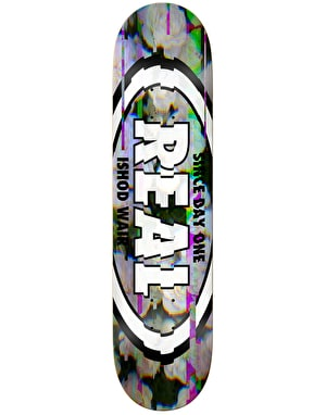 Real Ishod Glitch Oval SE Skateboard Deck - 8.5