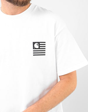 Carhartt State Patch T-Shirt - White
