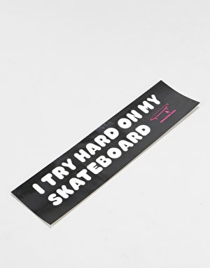 Crailtap Try Hard Bumper Sticker