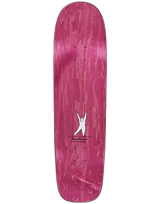 Polar Herrington Evol Love Skateboard Deck - P1 Shape 8.75""