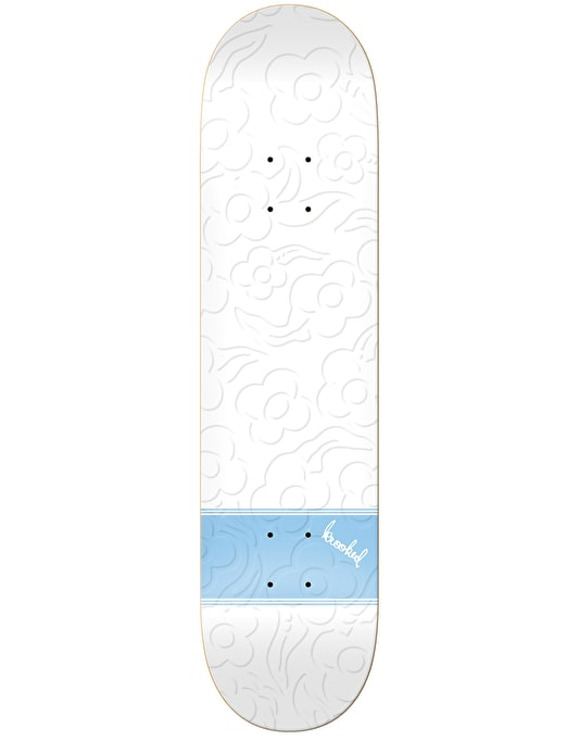 Krooked Gonz Three Strypes Embossed Skateboard Deck - 8.25""